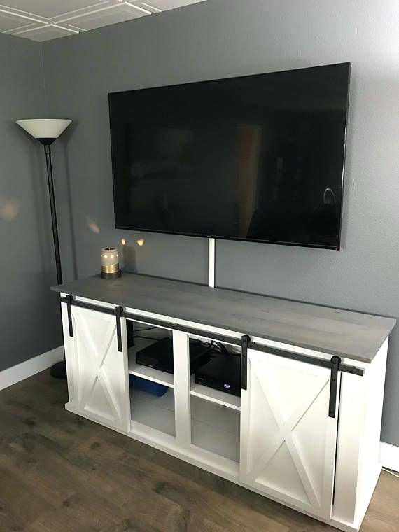 Grey Tv Console Singapore Barn Door Stand Media – Eventshere within Newest Sinclair Grey 64 Inch Tv Stands