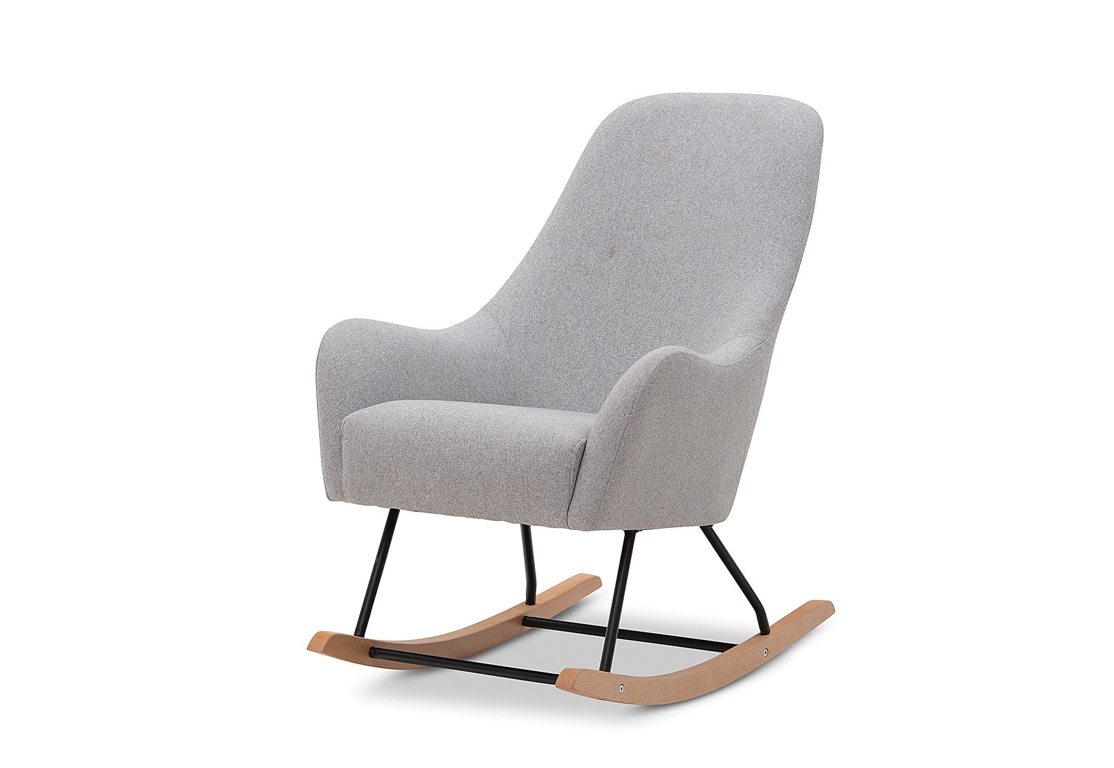 Gwen Accent Rocking Chair | Amart Furniture With Regard To Gwen Sofa Chairs (View 15 of 25)