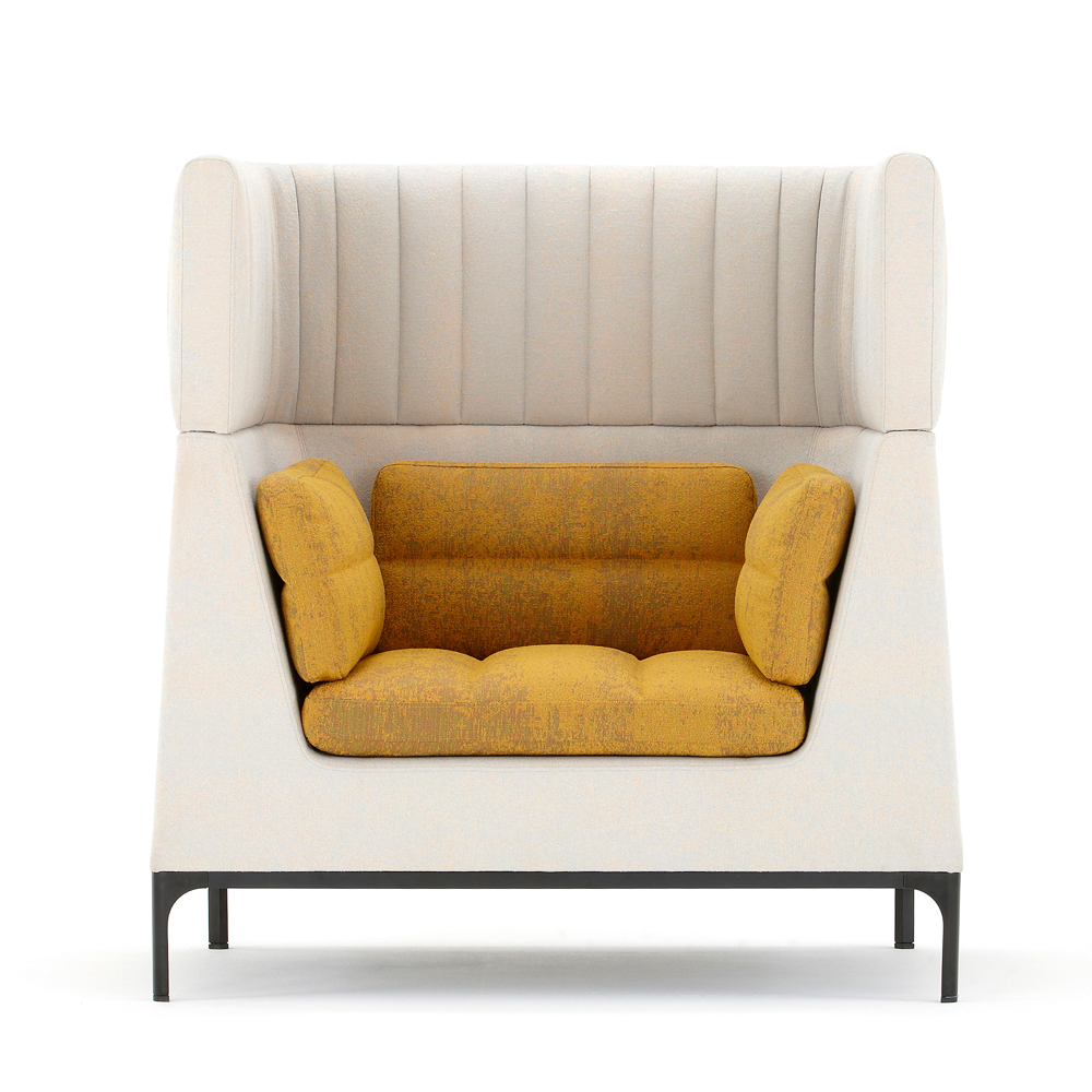 Ha102Hr Haven Single Seat Armchair With Headrest – Dbi Furniture With Regard To Haven Sofa Chairs (Image 6 of 25)