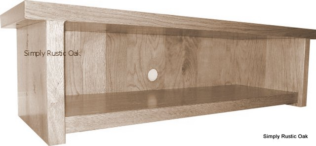 Handmade Bespoke Rustic Oak Tv Units – Simply Rustic Oak Throughout Most Up To Date Low Oak Tv Stands (Image 6 of 25)