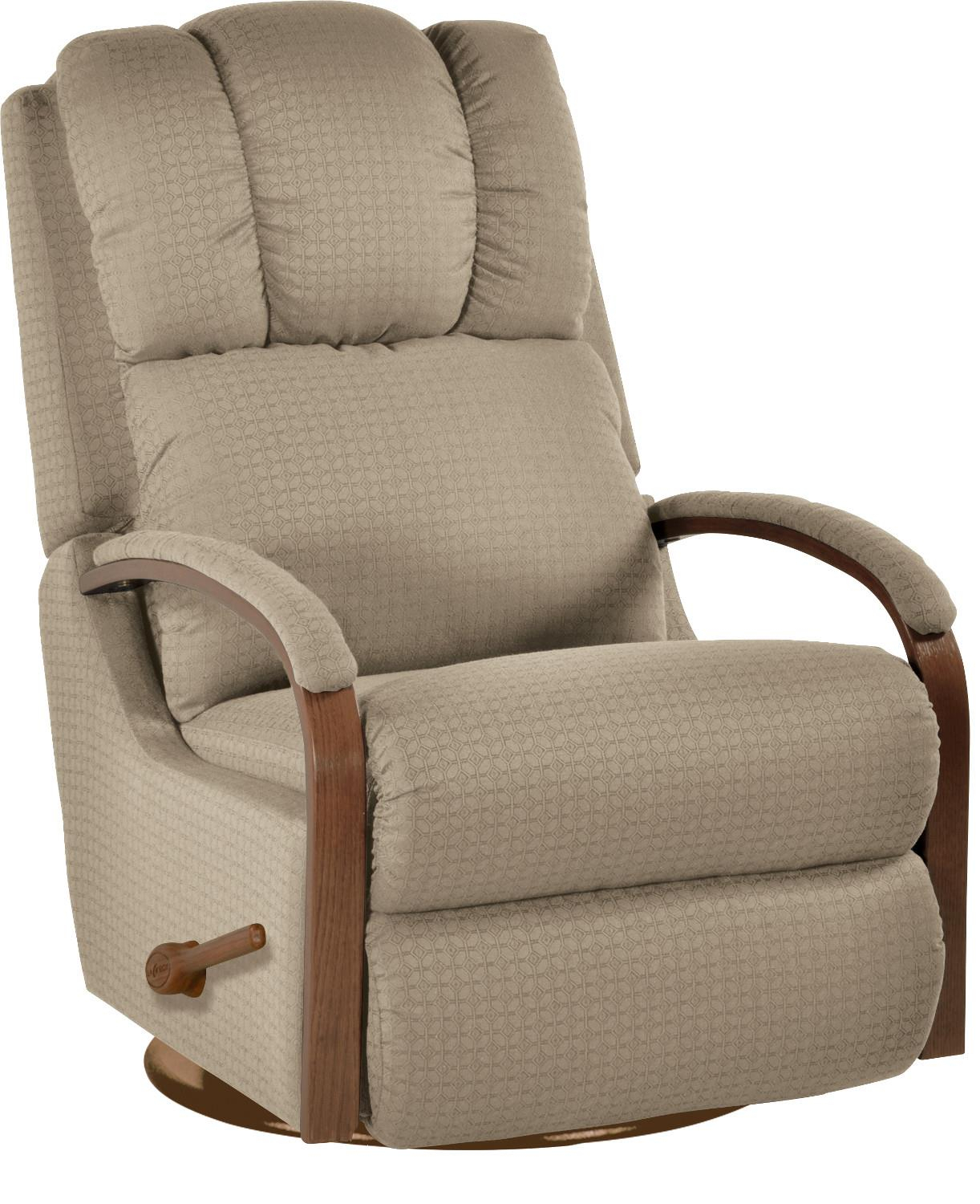 Harbor Town Reclina Glider® Swivel Reclinerla Z Boy | Wolf And Inside Harbor Grey Swivel Accent Chairs (Image 13 of 25)
