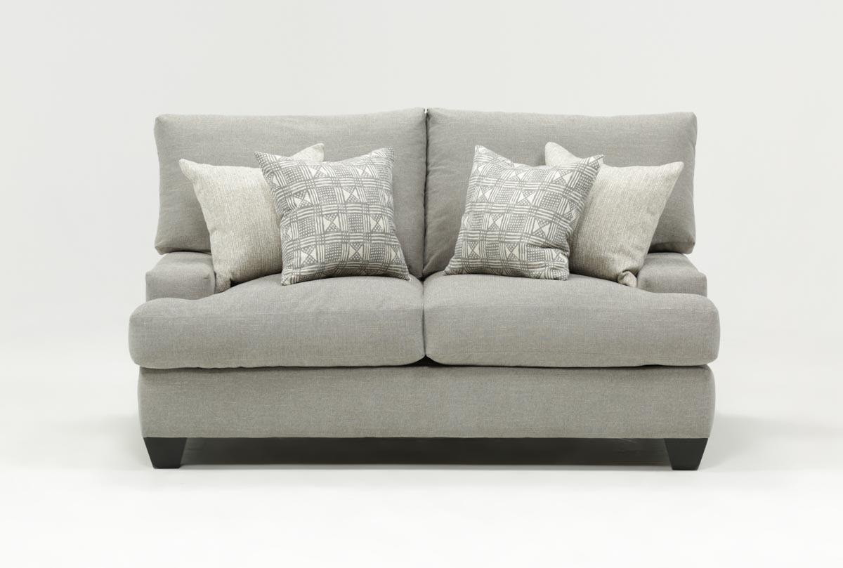 Harper Down Loveseat | Living Spaces for Harper Down Oversized Sofa Chairs
