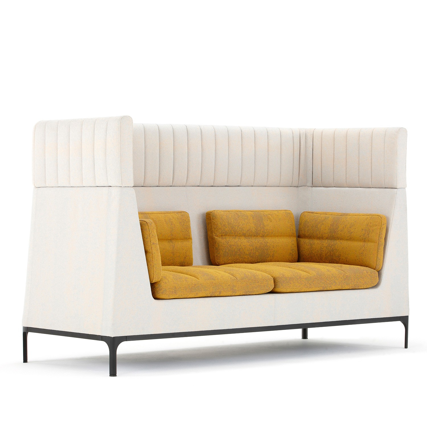 Haven High Back Sofa | Haven Acoustic Soft Seating | Apres Furniture Regarding Haven Sofa Chairs (View 5 of 25)