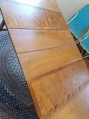 Haywood Wakefield Mid Century Drop Leaf Dining Table - $300.00 with regard to Well known Wakefield 85 Inch Tv Stands