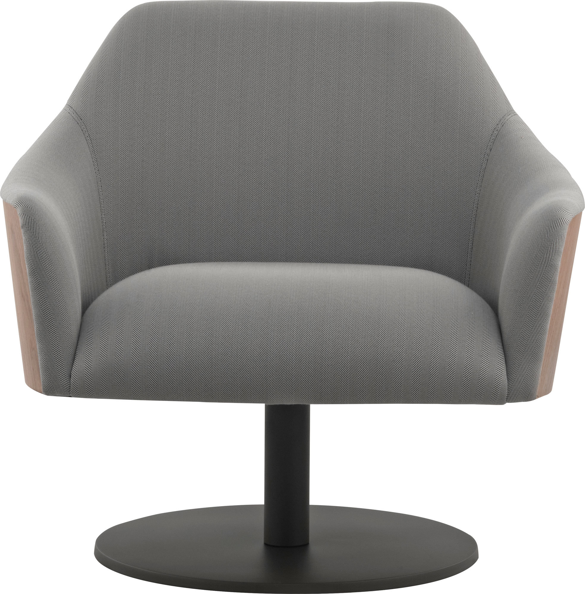 Henry Swivel Armchair | Allmodern Pertaining To Loft Black Swivel Accent Chairs (View 19 of 25)