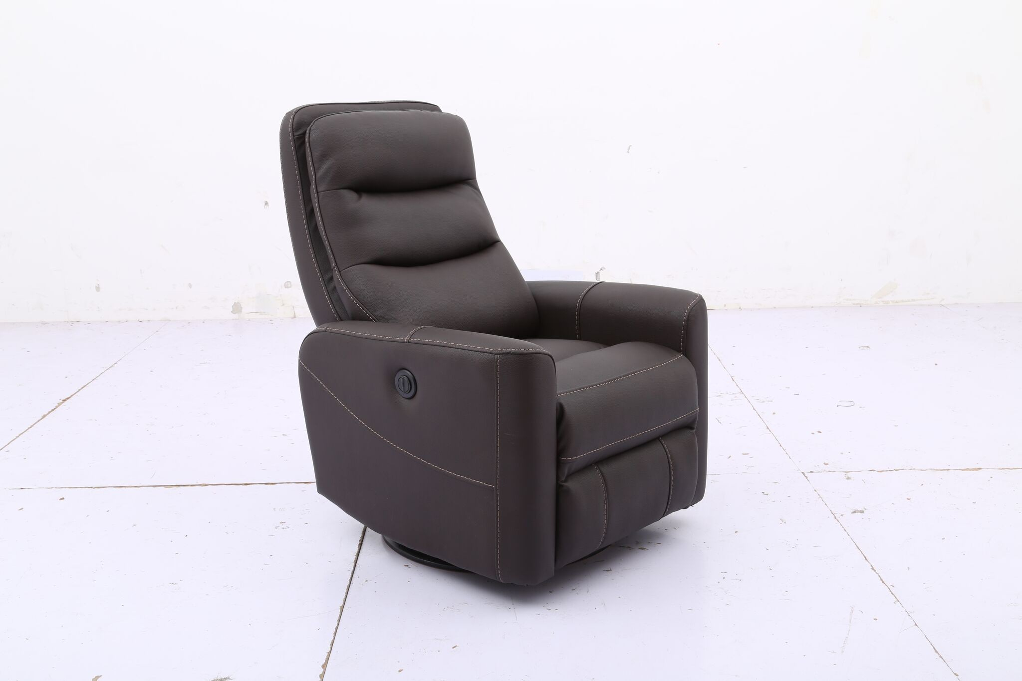 Hercules -Chocolate- Swivel Power Recliner for Hercules Oyster Swivel Glider Recliners