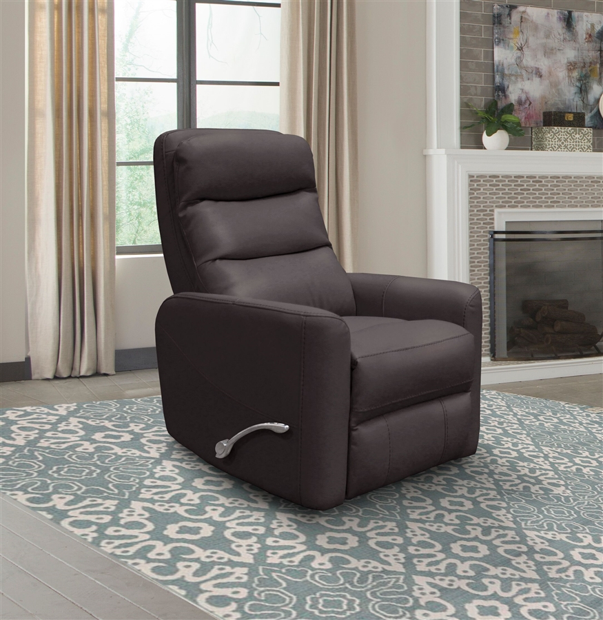 Hercules Glider Swivel Recliner With Articulating Headrest In inside Hercules Chocolate Swivel Glider Recliners