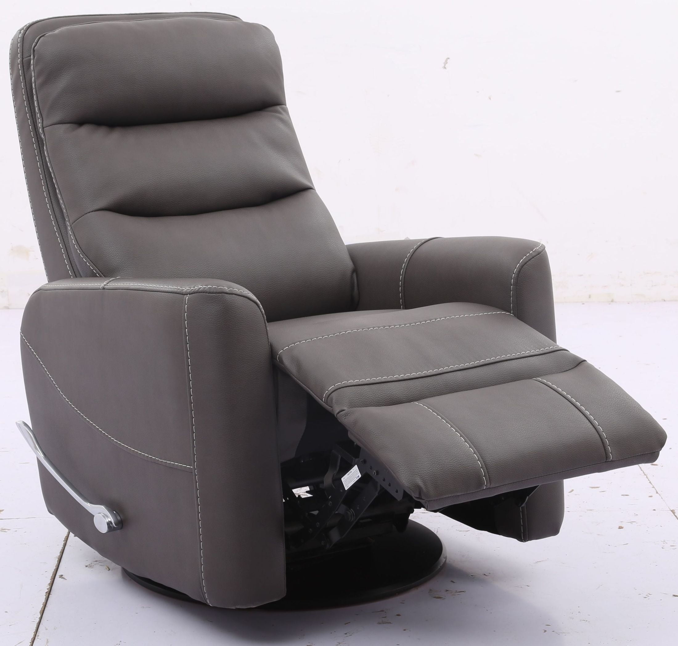 Hercules Haze Swivel Glider Recliner With Articulating Headrest From With Regard To Hercules Chocolate Swivel Glider Recliners (Photo 19 of 25)
