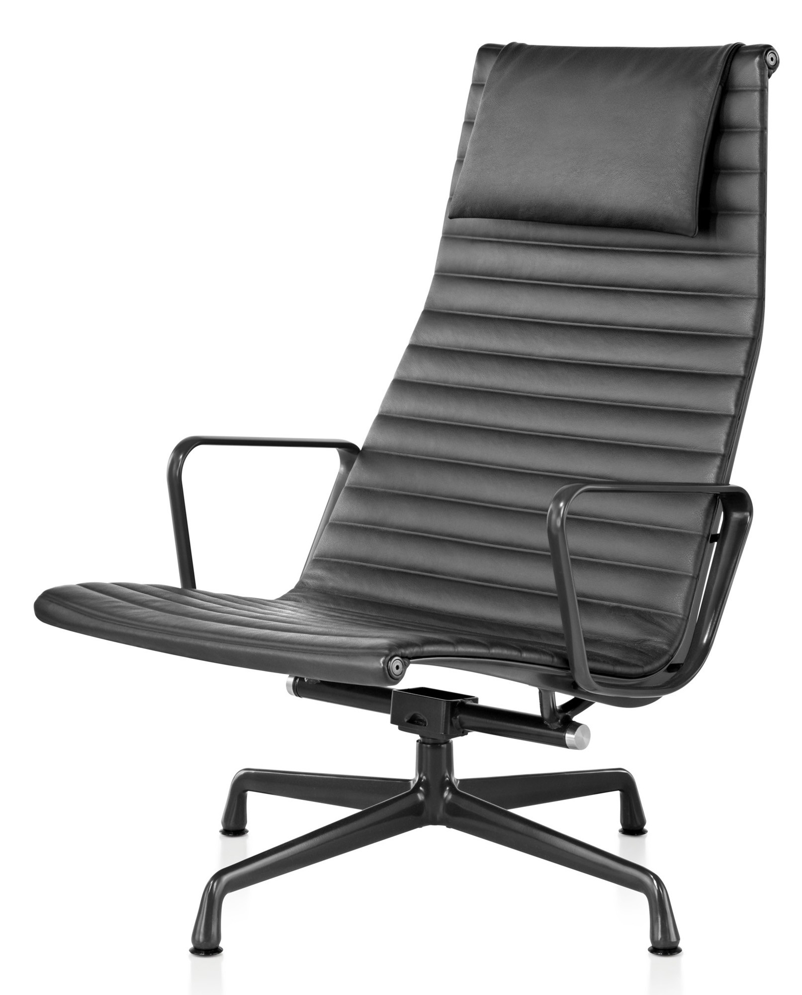 Herman Miller Eames® Aluminum Group – Lounge Chair – Gr Shop Canada Intended For Chadwick Gunmetal Swivel Chairs (Photo 10 of 25)