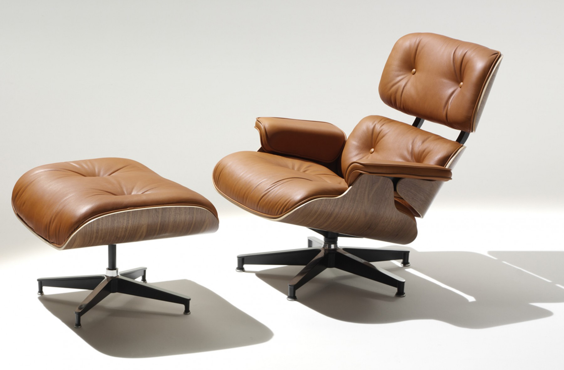 Herman Miller Eames® Lounge Chair And Ottoman - Gr Shop Canada inside Chadwick Gunmetal Swivel Chairs