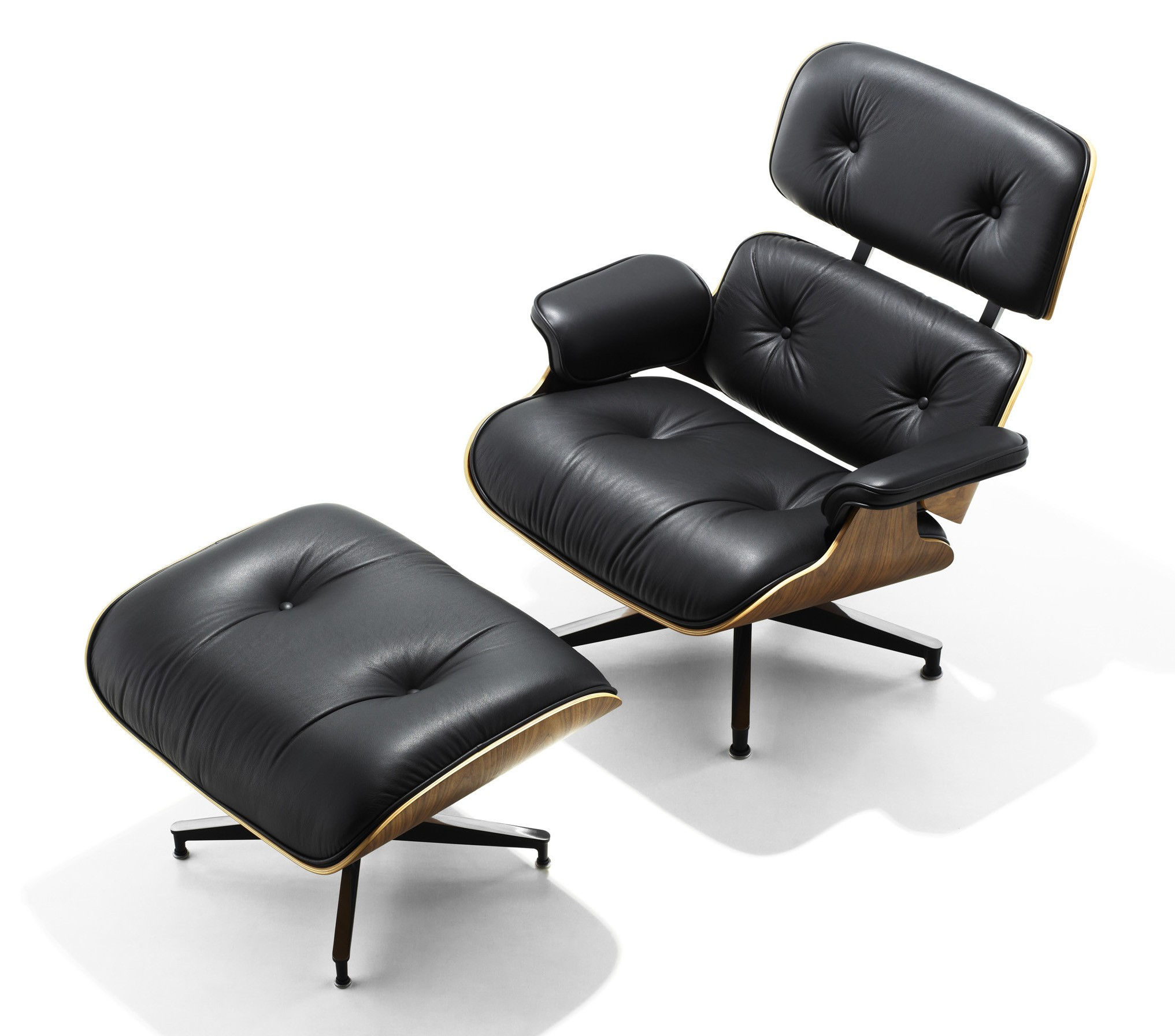 Herman Miller Eames® Lounge Chair And Ottoman – Gr Shop Canada Within Chadwick Gunmetal Swivel Chairs (Image 12 of 25)