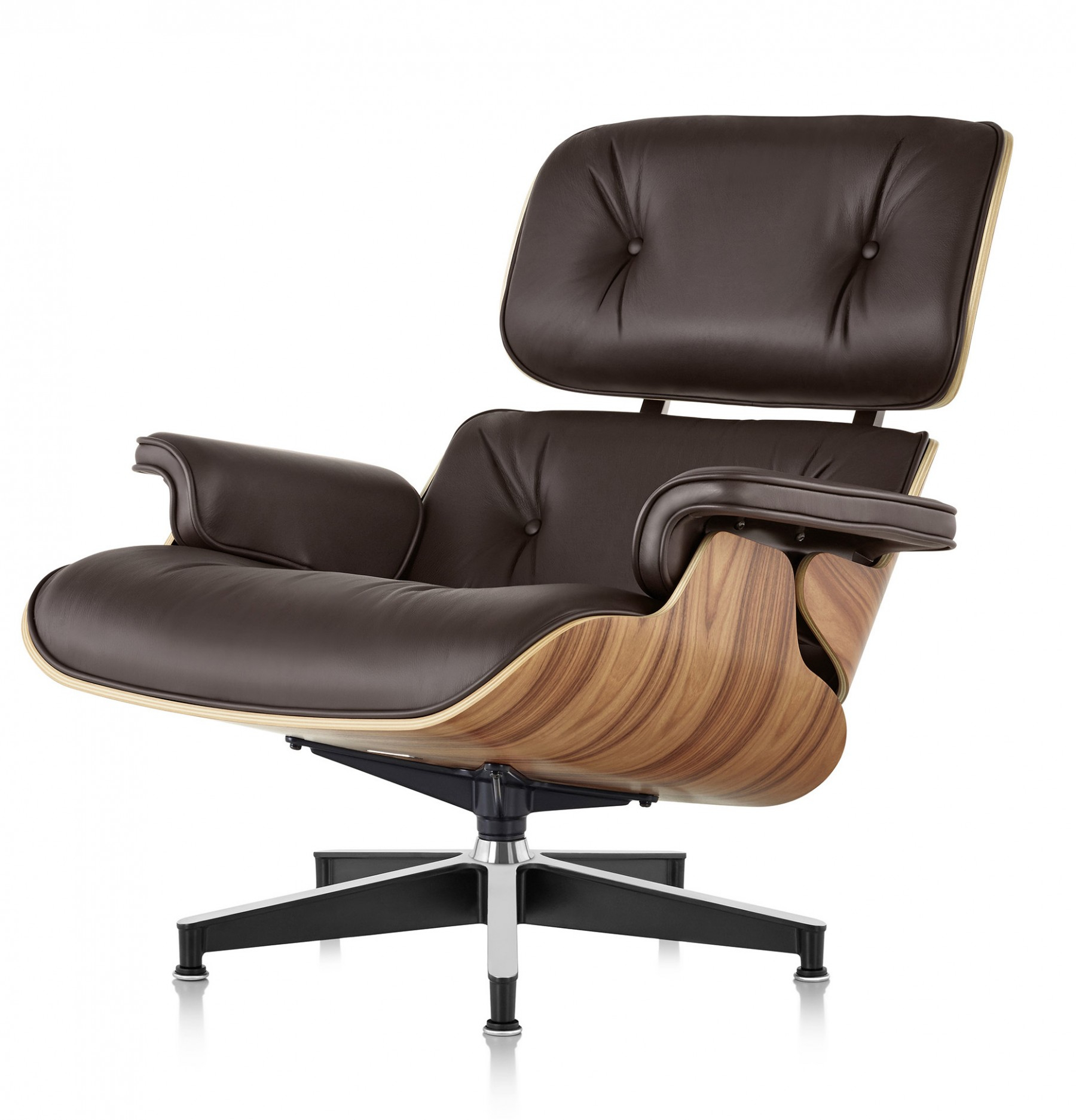 Herman Miller Eames® Lounge Chair - Gr Shop Canada within Chadwick Gunmetal Swivel Chairs
