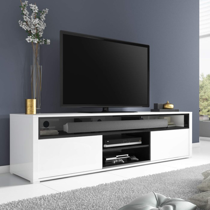 Hi Gloss Tv Stands Oval White Tv Unit Stand – Carolinacarconnections In Most Up To Date Oval White Tv Stand (Image 6 of 25)
