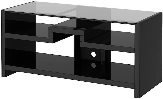High Ground Gaming Pertaining To Well Known Gunmetal Media Console Tables (View 13 of 25)