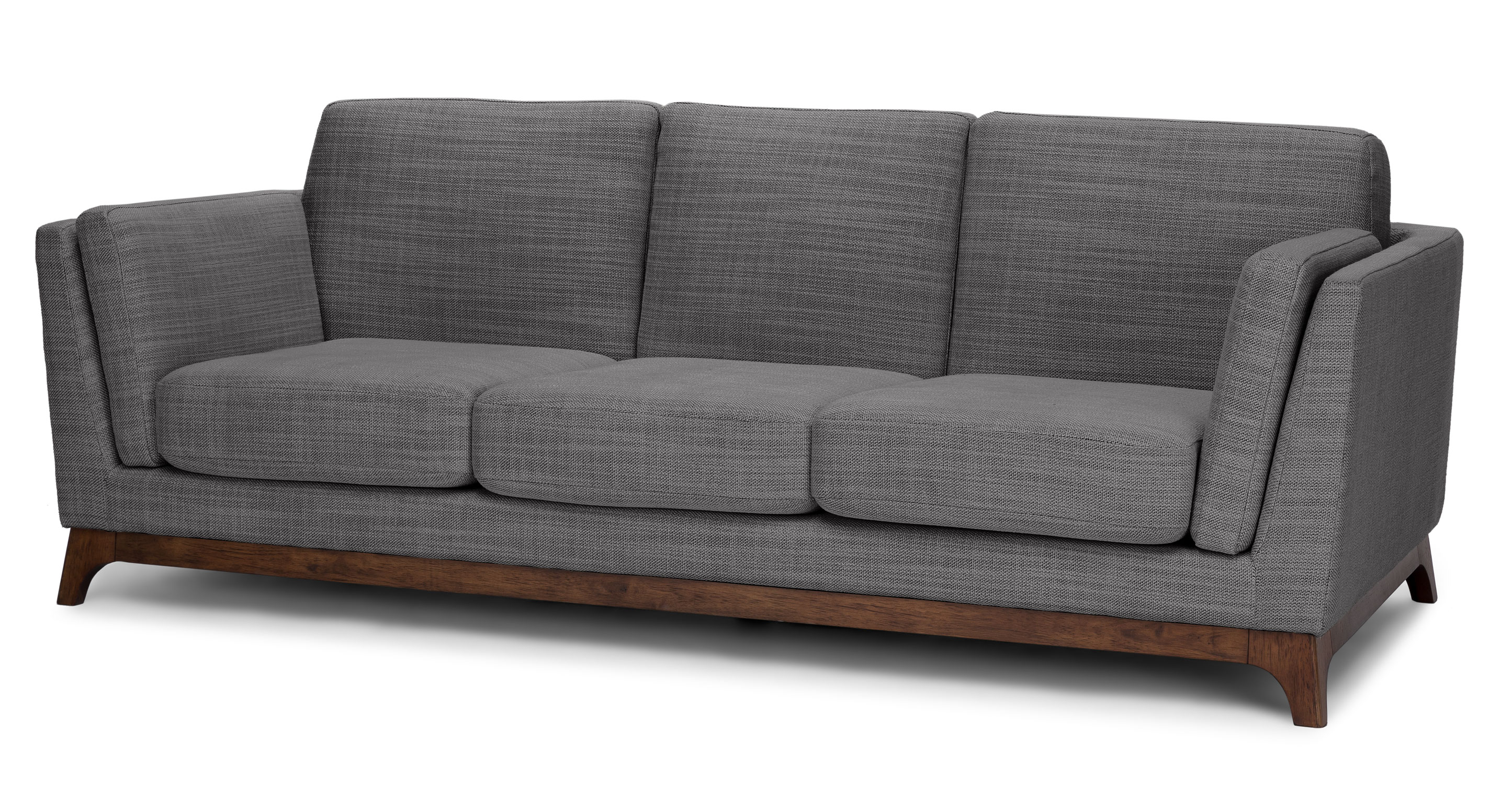High Style, Low Price: Article Ceni Sofa In Pyrite Gray - Visual pertaining to Aquarius Dark Grey Sofa Chairs