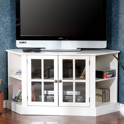 "Highland Dunes Galles Corner Tv Stand For Tvs Up To 65"" & Reviews throughout Most Up-to-Date Caden 63 Inch Tv Stands"