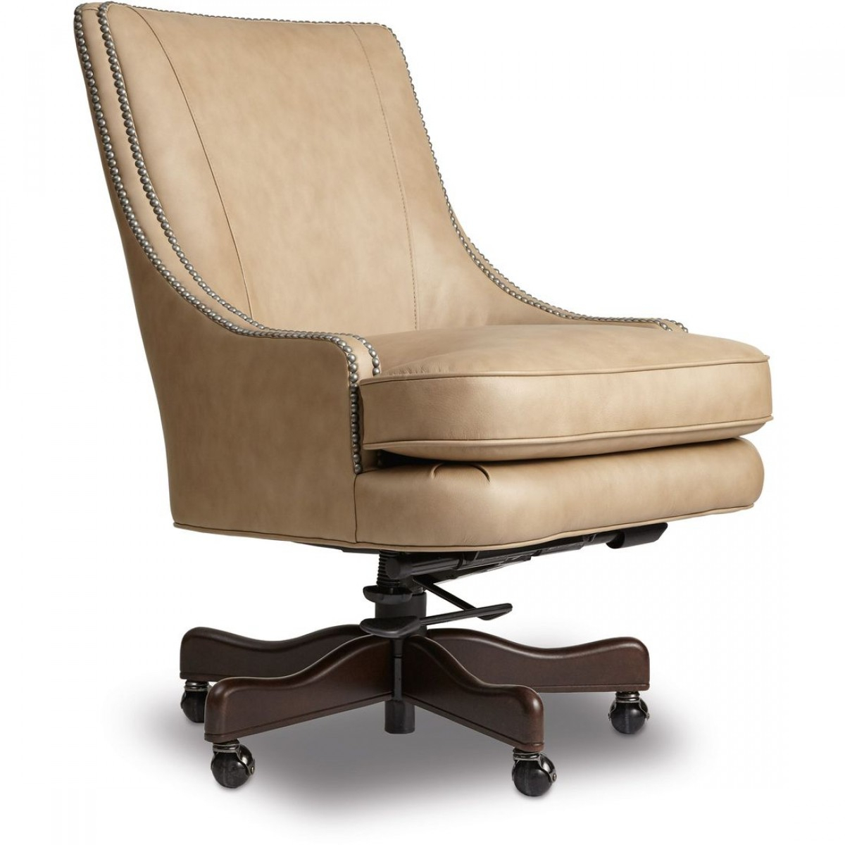 Hooker Furniture Aspen Hearthstone Home Office Chair With Regard To Aspen Swivel Chairs (Photo 15 of 25)