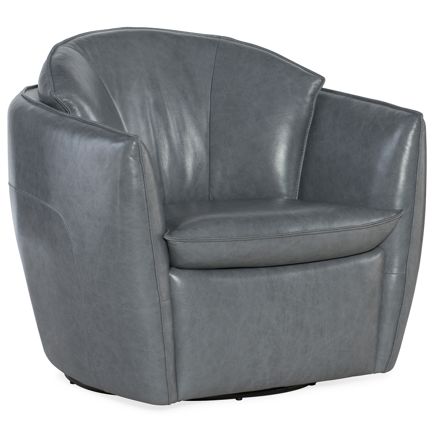 Hooker Furniture Vogue Vintage Dark Gray Swivel Chair Cc213 Sw 096 inside Dark Grey Swivel Chairs