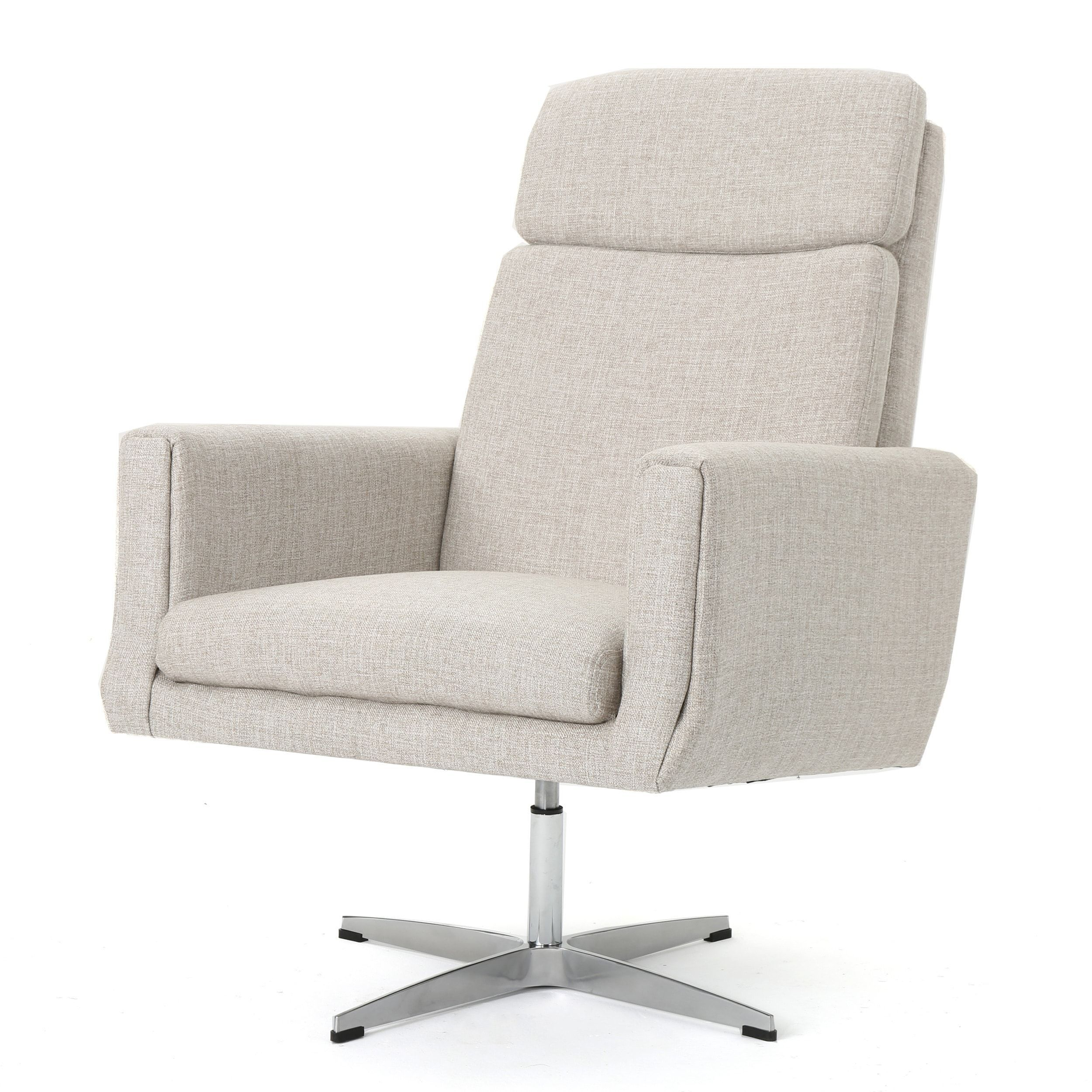 Featured Image of Harbor Grey Swivel Accent Chairs