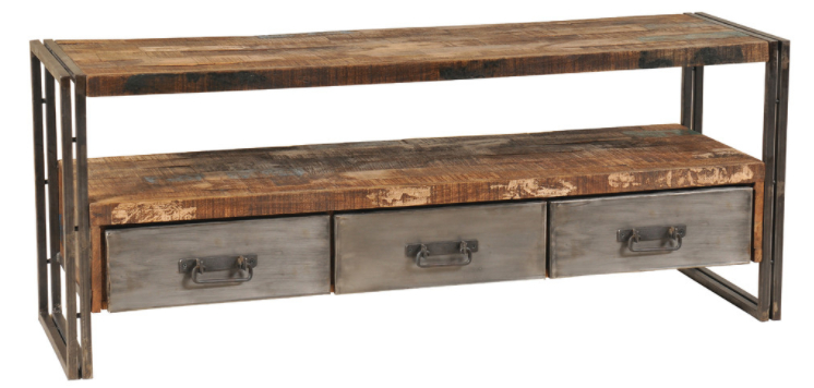 Houzz, $879 Http://www.houzz/photos/33615052/reclaimed Wood And With 2017 Reclaimed Wood And Metal Tv Stands (Photo 7331 of 7746)