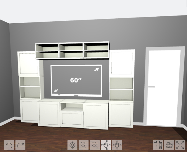 How To Design, Install, And Add Trim To An Ikea Besta Built In Inside Well Liked Ikea Built In Tv Cabinets (Photo 24 of 25)