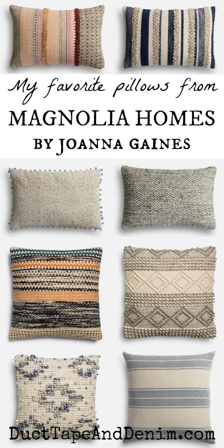 How To Get The Look Of Joanna Gaines Pillows On A Budget | Home With Regard To Magnolia Home Ravel Linen Sofa Chairs (Image 7 of 25)