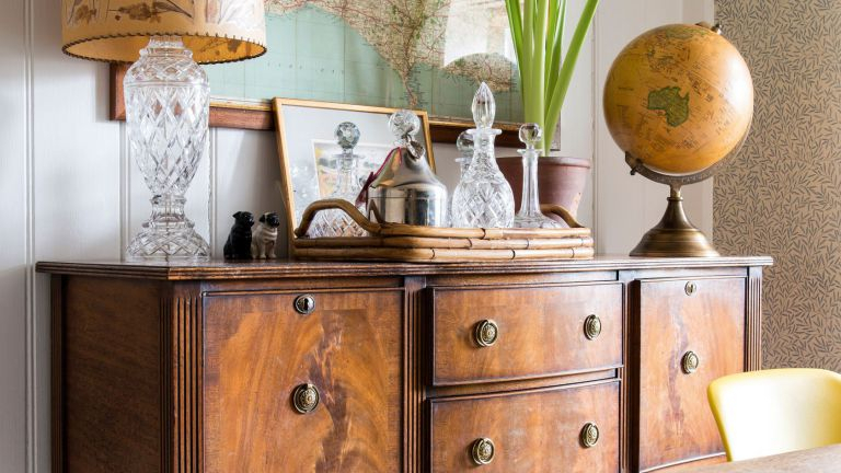 How To Restore Old Wooden Furniture: Clean, Repair And Refinish Throughout Well Known Mix Patina Metal Frame Console Tables (View 10 of 25)