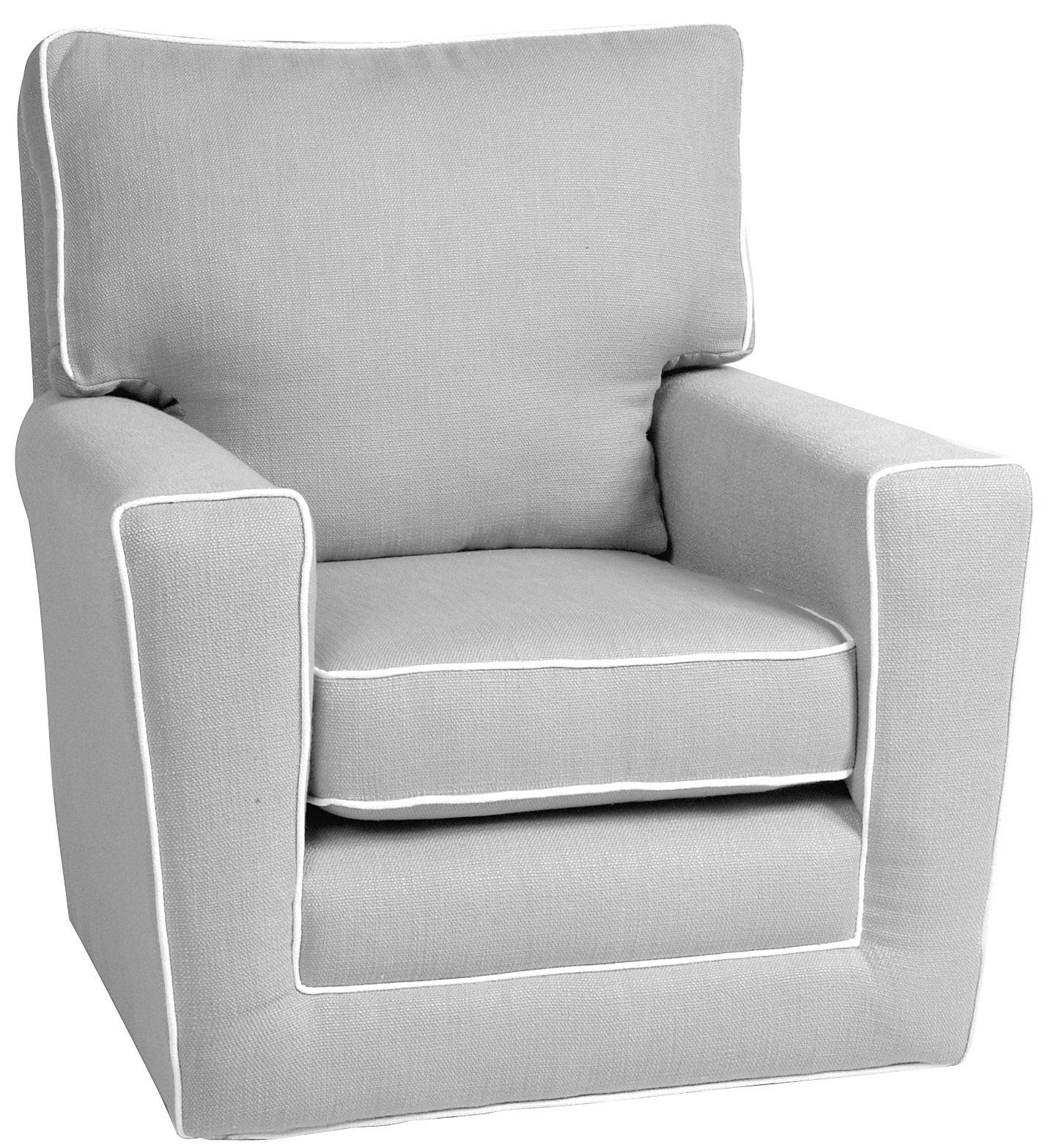 I Will Own A Little Castle Recliner For My Nursery No Way I'd Buy Throughout Katrina Grey Swivel Glider Chairs (View 5 of 25)