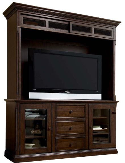 "Ifd Pueblo 60"" Tv Stand In White Ifd360Stand 60 For Newest Casey Umber 74 Inch Tv Stands (Image 14 of 25)"