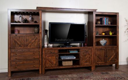 "Ifd Pueblo 60"" Tv Stand In White Ifd360Stand 60 With 2018 Casey Umber 74 Inch Tv Stands (Image 15 of 25)"