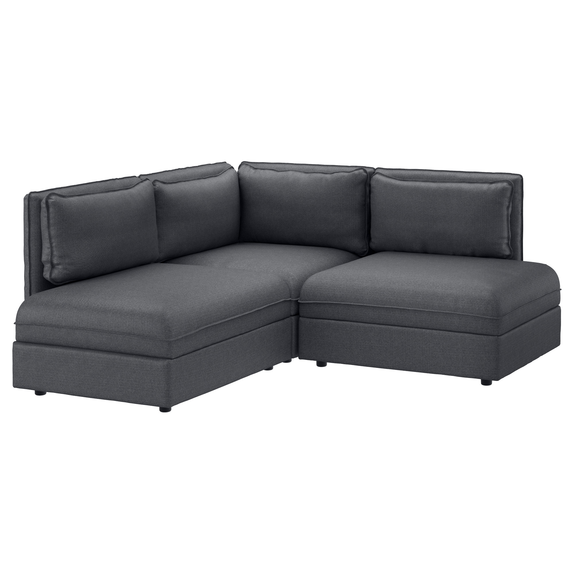 Ikea Fabric Corner Sofas | Ireland - Dublin inside Lucy Dark Grey Sofa Chairs