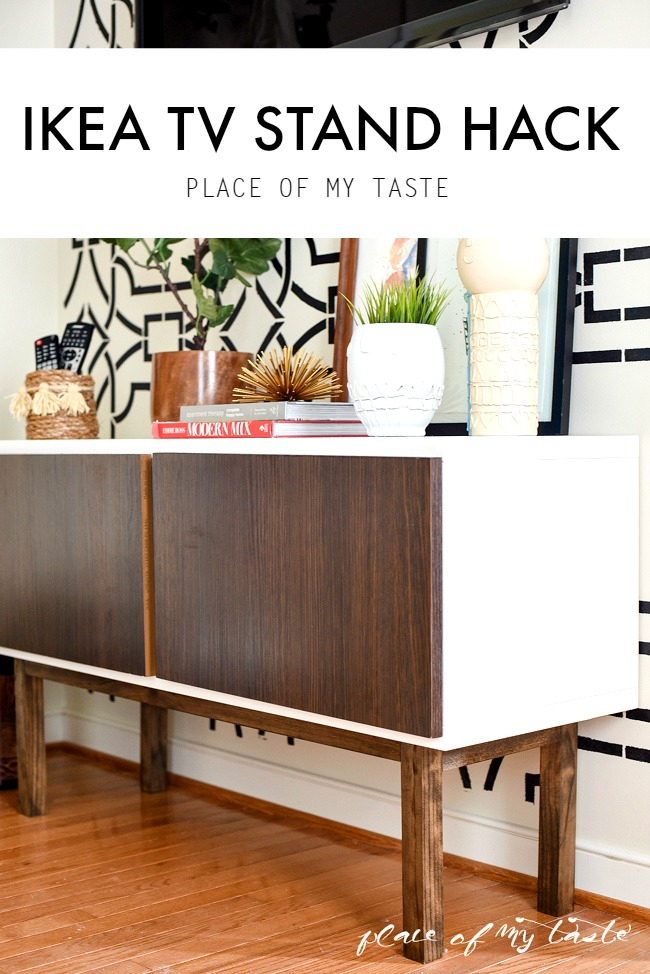 Ikea Hack  Tv Stand Hack – Place Of My Taste Within Widely Used Ikea Built In Tv Cabinets (Image 13 of 25)