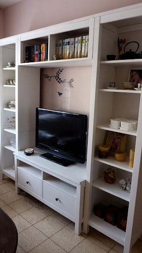 Ikea Hemnes Tv Stand And Book Cases For Kids Playroom, Similar Stand intended for Most Up-to-Date Playroom Tv Stands