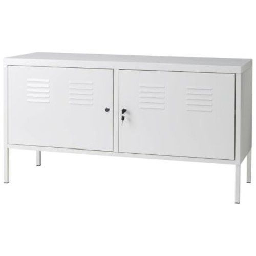 Ikea White Cabinet Tv Stand Multi Use Lockable, Http://www (View 19 of 25)