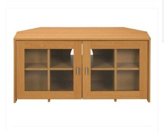In Kingstanding, West Throughout Most Up To Date Corner Tv Cabinets With Glass Doors (Image 13 of 25)