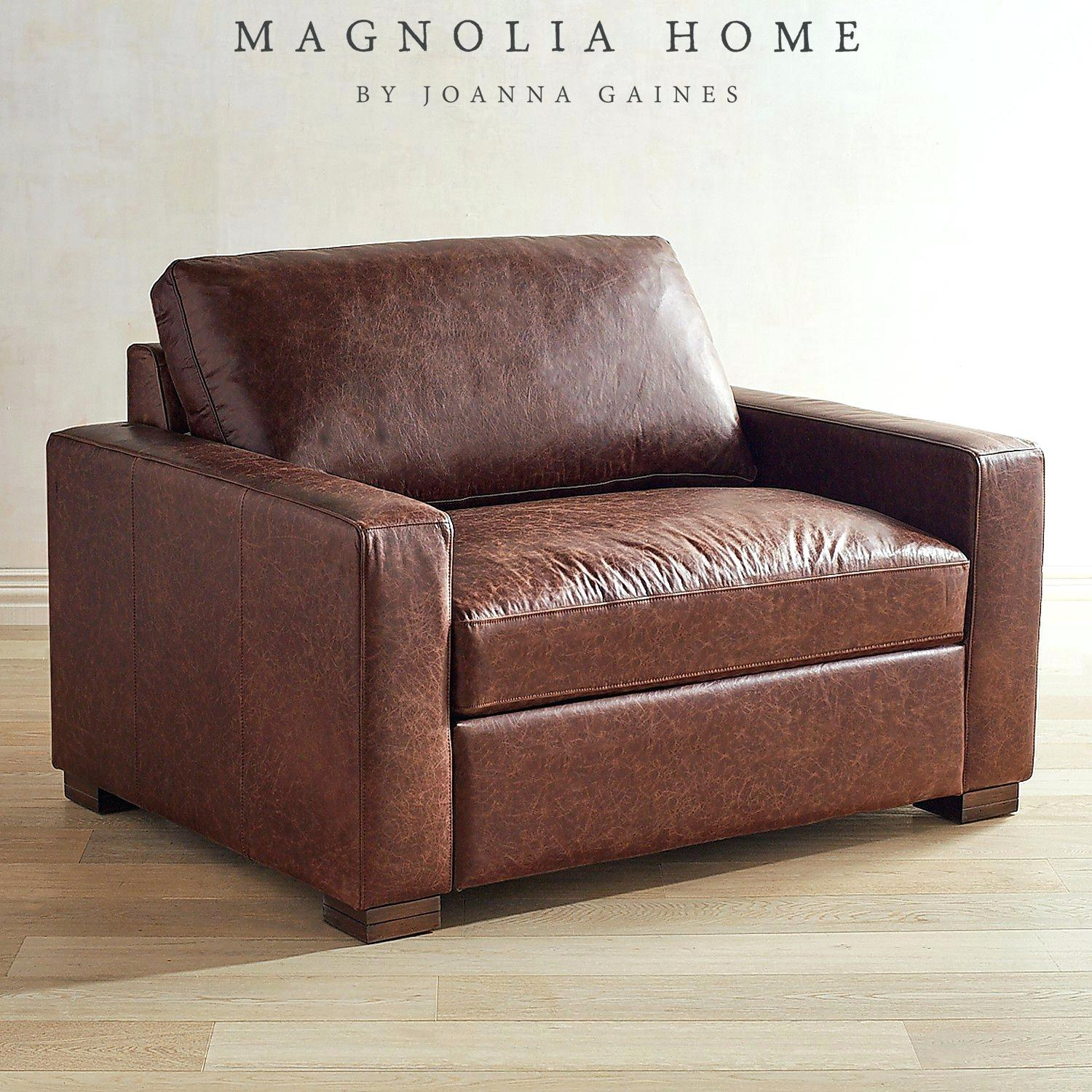 Industrial Pier Beam Coffee Tablemagnolia Home Sofa Homestead For Magnolia Home Homestead Sofa Chairs By Joanna Gaines (Image 8 of 25)
