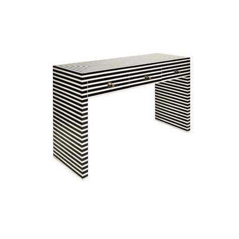 Intarsia Natural Console Table In  (Image 18 of 25)