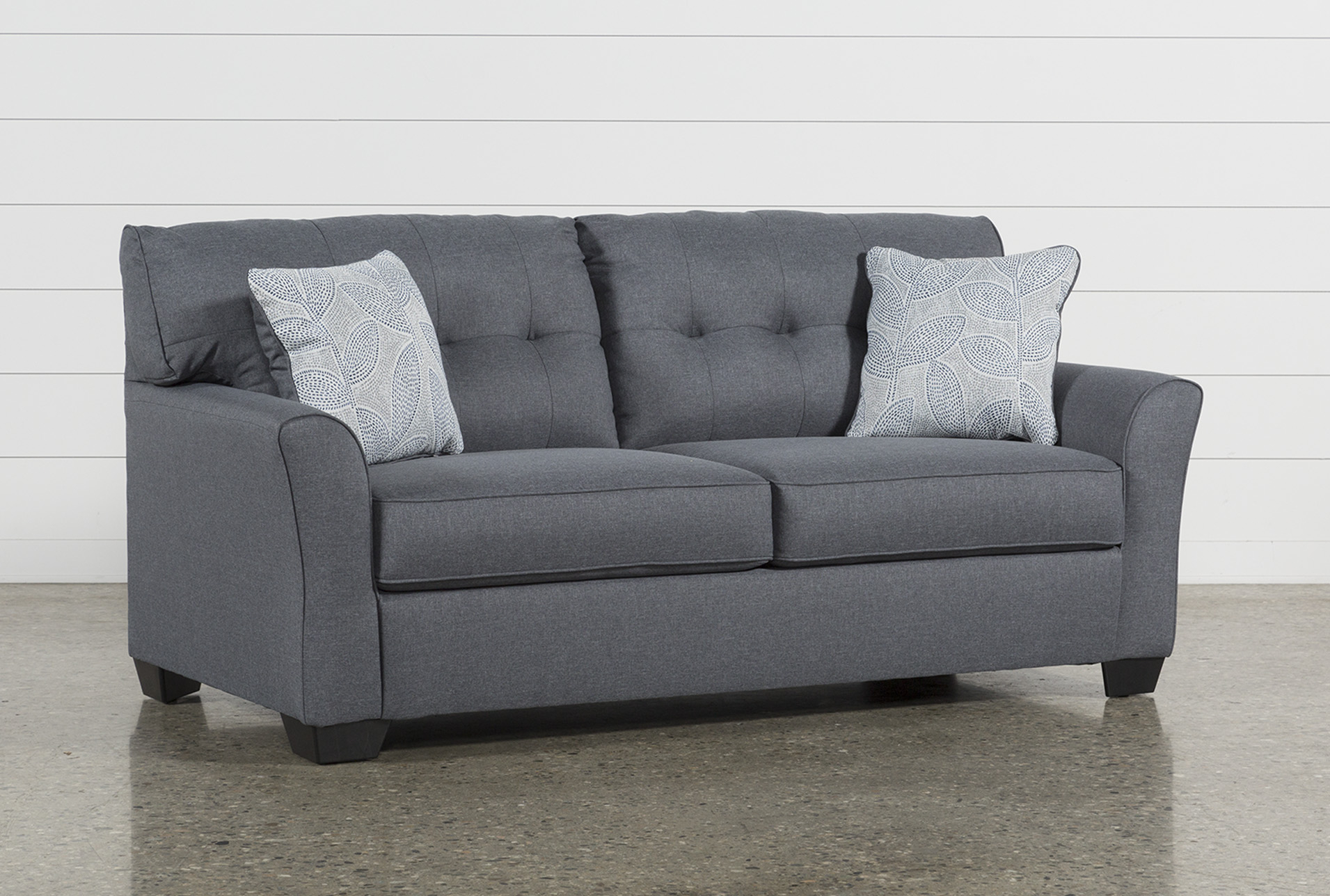 Jacoby Gunmetal Sofa In 2018 | Products | Pinterest | Sofa, Sleeper Within Mcdade Graphite Sofa Chairs (Image 8 of 25)
