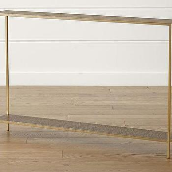 Jacque Console Table - Products, Bookmarks, Design, Inspiration And with Widely used Jacque Console Tables