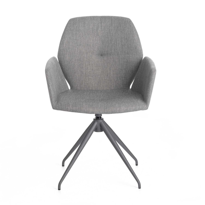 Jay 95 Swivel Chair | Aif London with regard to Grey Swivel Chairs