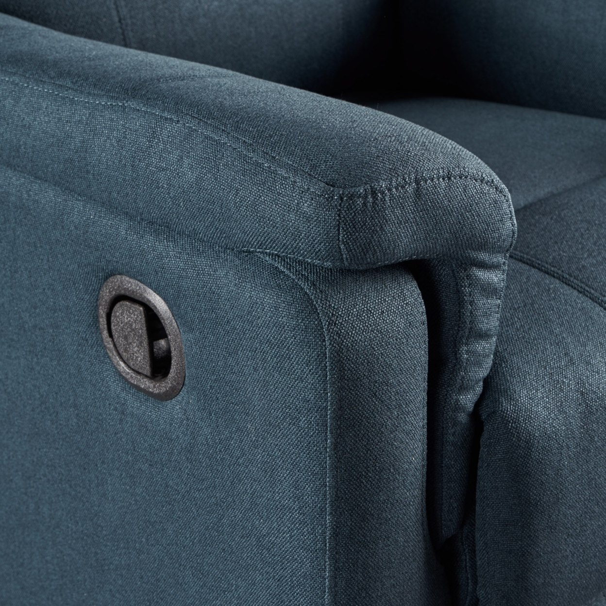 Jemma Tufted Fabric Swivel Gliding Recliner Chair In Living Room With Regard To Decker Ii Fabric Swivel Glider Recliners (Image 17 of 25)
