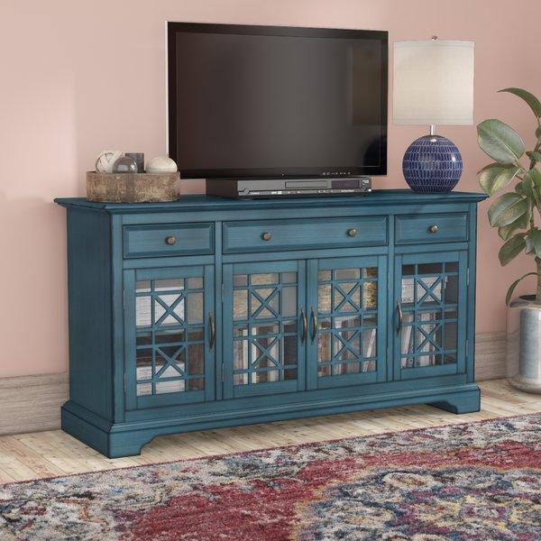 Jofran Antique Blue Tv Stand