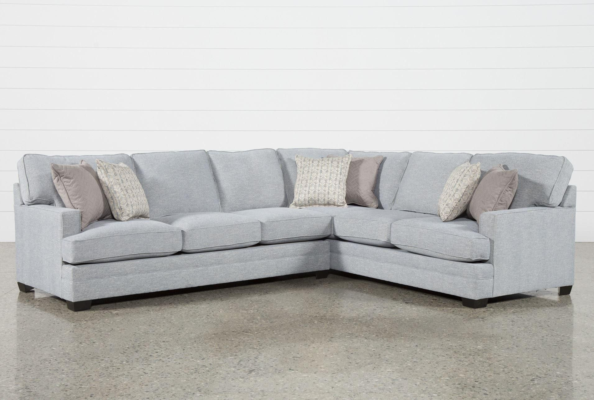 Josephine 2 Piece Sectional W/laf Sofa | For The Home | Sofa, Living Intended For Mcdade Graphite Sofa Chairs (View 7 of 25)