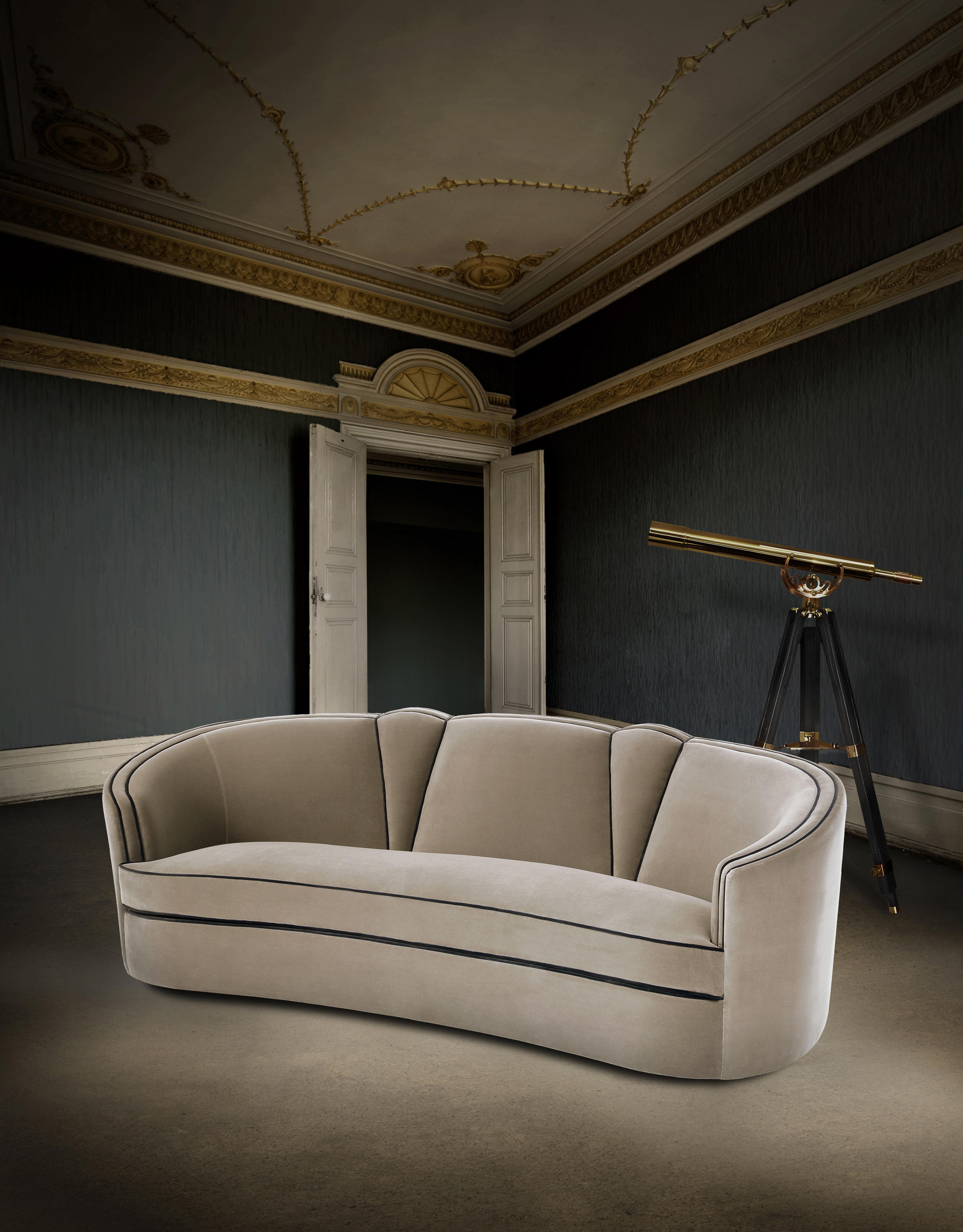 Josephine | Armchair – Armchairs From Munna | Architonic Throughout Josephine Sofa Chairs (Image 6 of 25)