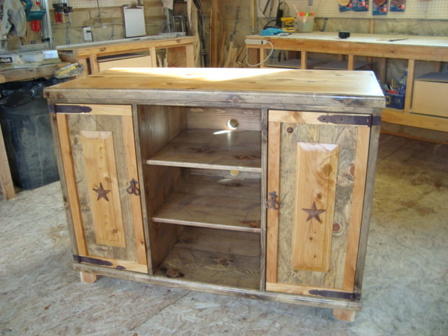 Juniper/pine Tv Stand  Teresa Mellon @ Lumberjocks For Trendy Pine Tv Stands (Image 7 of 25)