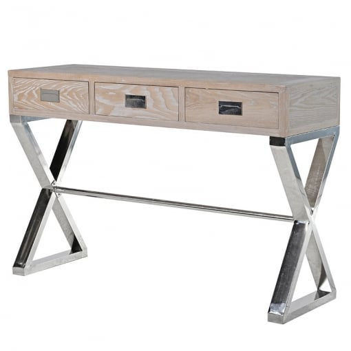 Kensington X-Frame Console Table - Kensington From House Of Isabella Uk throughout Latest Frame Console Tables