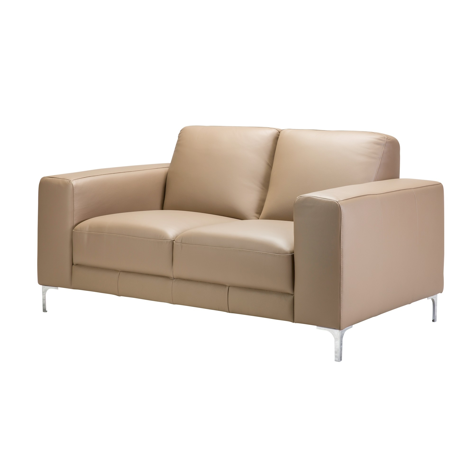Kiara 2 Seater Love Seat Leather regarding Kiara Sofa Chairs