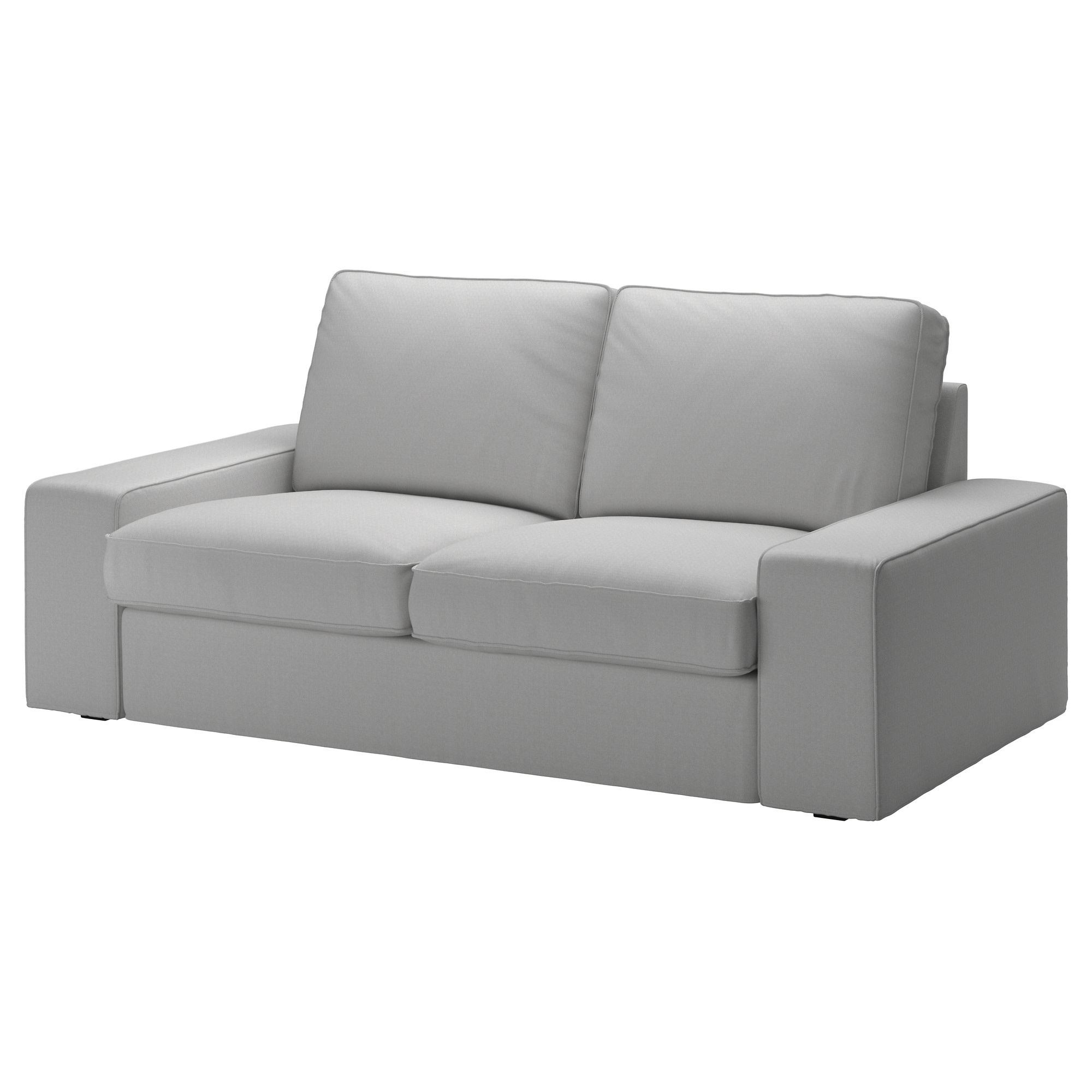 Kivik Loveseat – Orrsta Light Gray – Ikea Regarding Mesa Foam Oversized Sofa Chairs (Image 12 of 25)