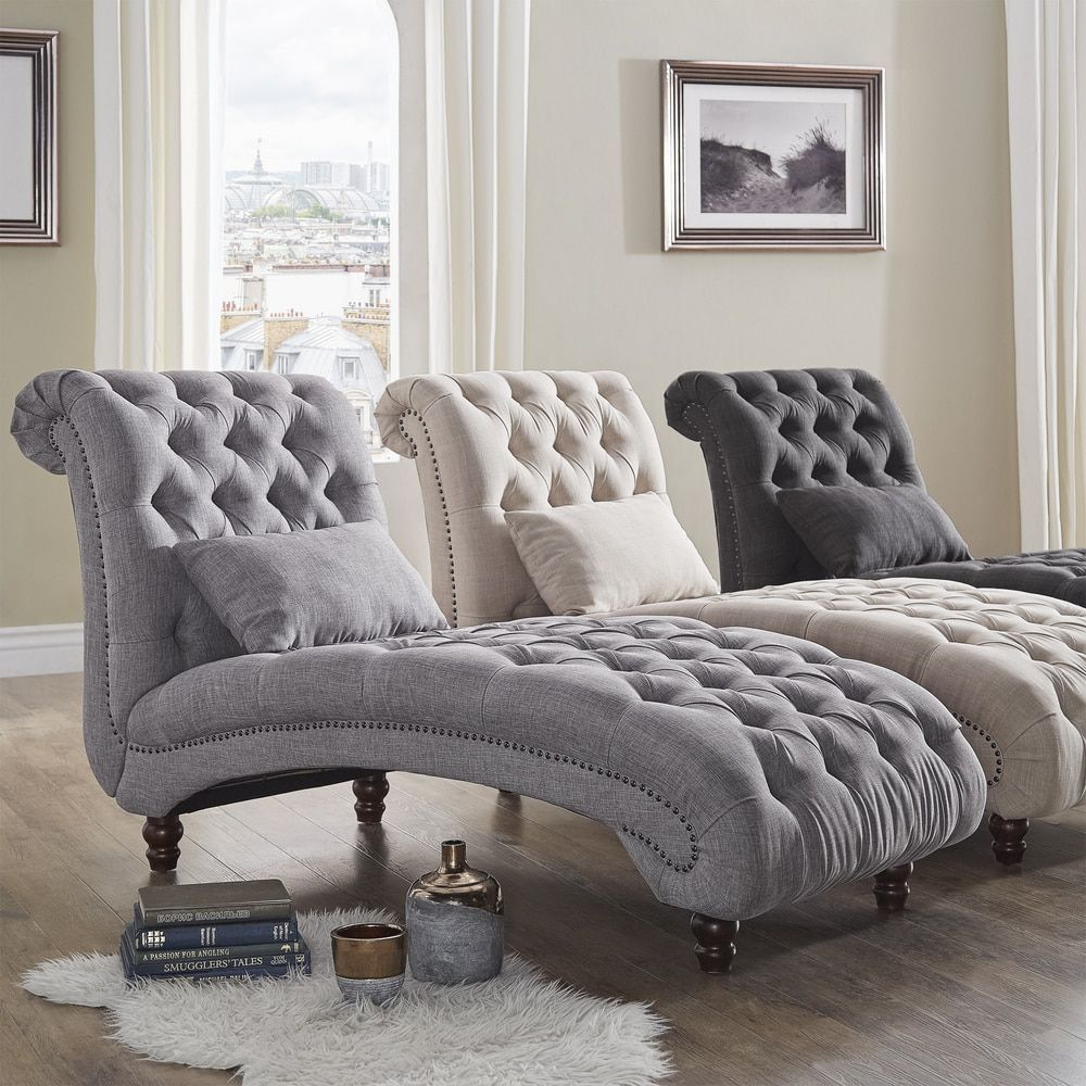 Knightsbridge Tufted Oversized Chaise Loungesignal Hills Throughout Maddox Oversized Sofa Chairs (Photo 19 of 25)