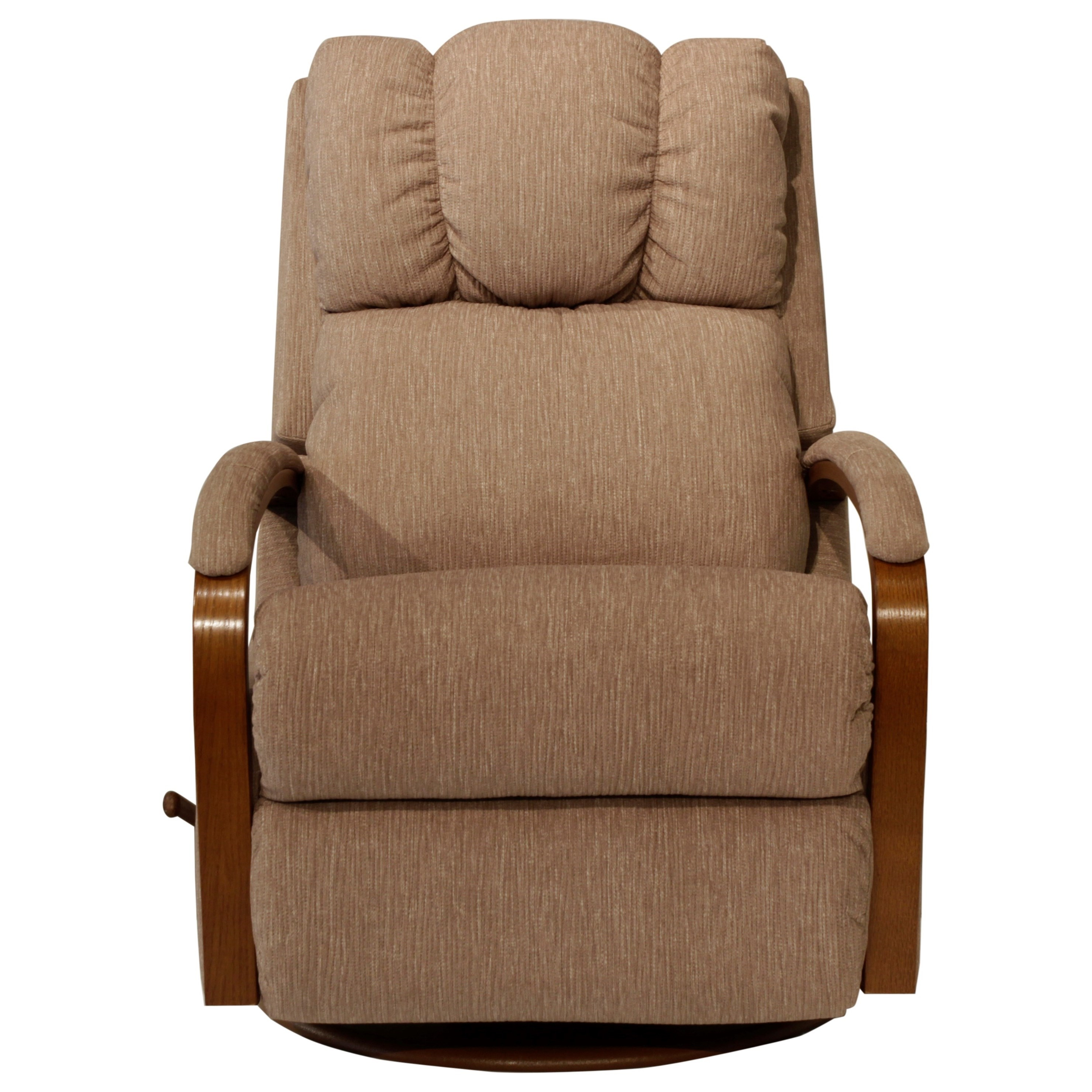La Z Boy Harbor Town Swivel Glider Recliner | Homeworld Furniture Within Harbor Grey Swivel Accent Chairs (Image 17 of 25)